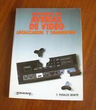 Manual de averías de Video. Localizacion y Diagnostico