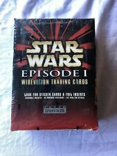 Star Wars Episode One Widevision Trading Cards Box - Topps - Factory sealed 36ct