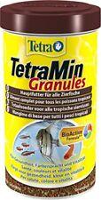 Tetra Poissons eau douce Tropicale Aliment complet TetraMin Granules 500 ml
