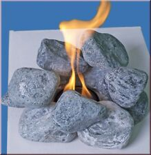 Dekosteine Bio Ethanol für Gelkamin Ziersteine Blue Stone