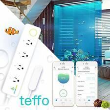 teffo; Aquarium Temperature Controller w/Magnetic Sensor;WiFi Thermometer;2-Stag