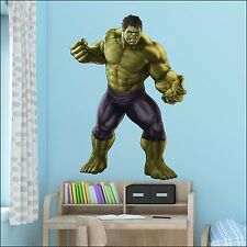 Avengers The Hulk Life size wall Sticker Art 7 sizes to choose XXL- 1.73m Mural