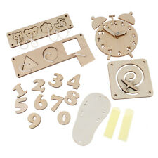 Baby Busy Board Diy Accessories Material Busyboard Childhood Wooden -_cd
