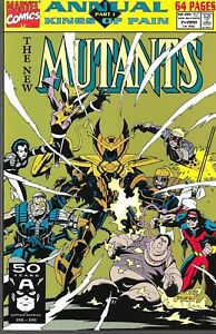 Complete Set Kings Of Pain 1-4 Mutants Warriors X-Men X-Factor Annuals VF/NM FZ