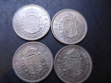 1955  Queen Elizabeth  Halfcrowns. Mint Uncirculated.  Bulk lot.