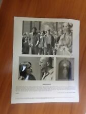 Vintage Glossy Press Photo Movie Unbreakable Bruce Willis Samuel L Jackson