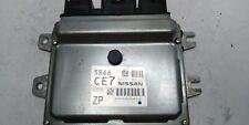 2014 VERSA Computer Brain Engine Control ECU ECM EBX Module NEC001-860