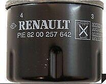 Genuine New Renault Oil Filter - 8200257642