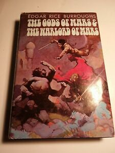 The gods of Mars and The Warlord of Mars by Edgar Rice Burroughs. 1971