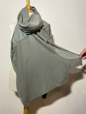 RUNDHOLZ Military Green Cotton Blend Scarf