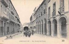 CPA ALGERIE CONSTANTINE RUE ROHAULT DE FLEURY (attelage