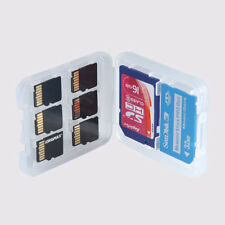 8 Slots Anti-shock Memory Card Case Storage Holder For Micro SD TF SDHC MSPD