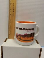 Dunkin Donuts New Hampshire NH Coffee Mug (2013) Runs On Dunkin' Train  BB27