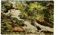 Bangall NY - LUDLOW FALLS - Handcolored Postcard Dutchess County
