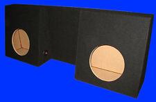 "CHEVROLET CHEVY S10 REGULAR CAB 12"" BLACK SUBWOOFER SUB ENCLOSURE BOX -AMP-RACK"