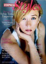 STYLES 2007: SYLVIE TESTUD_THIERRY MUGLER_CARTIER