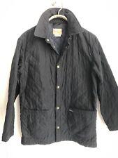 BERETTA NAVY Diamond-Quilted Microfiber Men's Jacket Small US 36 S Field jacket