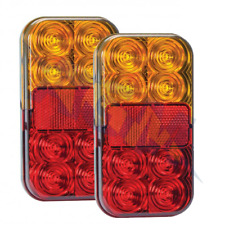 Led Autolamps Rear Trailer Led Lights Lamps Set 12v Stop/Tail/Indicator (Pair)