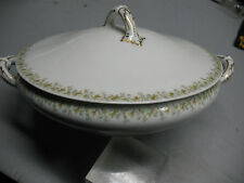 FRANK HAVILAND  LIMOGES SERVING  BOWL & LID  40455   VINT. ORIG.  FRANCE   SUPER