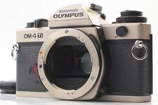 *Mint* OLYMPUS OM-4 OM4 Ti Titan Color 35mm SLR Film Camera From JAPAN