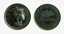 pcc2135_40) Medaglia Visita Imperatore Guglielmo II Roma Inc. SPERANZA mm 21