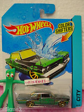 2014 Hot Wheels Color Shifters '64 PONTIAC GTO 1964 #44/48�Šmetallic - green�Š