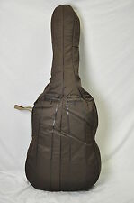 Hofner 1/4 Double Bass Gig Bag w/ Handle (Brown, Canvas Heavy Duty) NEW