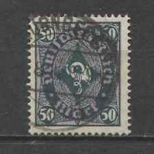 1922 Germany  50 Mark  Posthorn issue watermark variety used, cat. $ 1,870.00