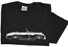 Bugeye  - Frogeye Austin Healey Mk1 Sprite 100% cotton T-Shirt Med - XXL