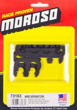 Moroso 73163 Ignition Spark Plug Wire Loomseparators 11mm Black Polymer