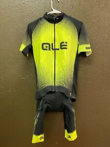 Alé Cycling PRR Jersey and Bibshort Kit - Fluo Yellow - Men's XS-XXL