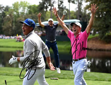 Rickie Fowler & Justin Thomas Signed Photo 8X10 Rp Autographed Golf Pros