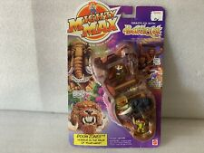 Mighty Max Doom Zones '' Grapples With Battlecat'' Play Set By Mattel