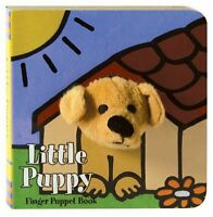 Little Puppy: Finger Puppet Book (Little Finger Puppet Board Books) by Chronicle