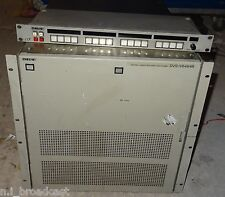 Sony dvsv6464b 64x64 SDI video router with remote