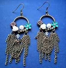 Handmade Hook Chandelier Costume Earrings