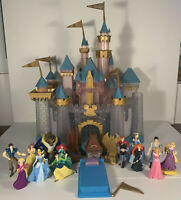 Disneyland 60th Diamond Anniversary Sleeping Beauty Castle Light Up Playset