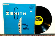 Zenith 6 Play Jelly Roll Morton Volume Two, LP 1965 - NM Vinyl - JAZZ