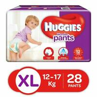 Huggies Wonder Pants Diapers, Extra Large (Pack of 28) free shipping world