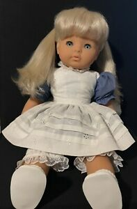Esquisite By Zapf Antique Doll Like Alice And wonderland
