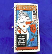Snowwoman in a Box Kit-Everything You Need to Dress a Snowwoman NIB Free Ship!