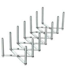 IKEA VARIERA Adjustable Stainless Steel Pan Pot Lid Organiser Rack Holder Stand