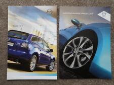 MAZDA CX-7 2.3 MZR DISI TURBO orig 2009 UK Mkt Sales Brochure + Price List