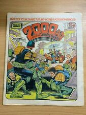 2000AD PROG 201 (28 FEB 1981) UK LARGE PAPER COMIC - JUDGE DREDD