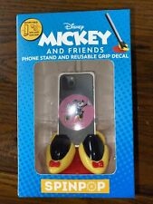 New listing Spinpop Minnie Mouse Mickey And Friends Phone Stand And Reusable Grip Decal