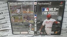 MLB 08 THE SHOW NTSC Sony Playstation 2 ps2 game gioco console INGLESE ENG