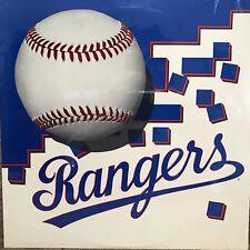 TEXAS RANGERS BASEBALL  1988 MINT & SEALED  BIG BROTHERS & BIG SISTERS