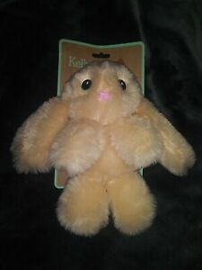 *NEW* KELLYTOY 9' Ivy the Bunny🐰 Beige Plush Squeaky and Crinkle Toy For Dogs
