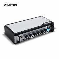 Valeton Bass Guitar Amp Pedal with Chorus Distortion Overdrive Asphalt TAR-20B