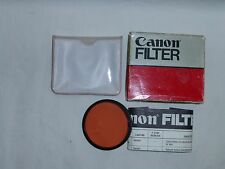 Canon 58 58mm  FC-B  Filter  (FL-B)  MADE IN USA    old stock NEW